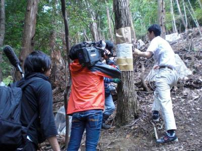 ナラ枯れ被害防止活動、7月9日(月)テレビ大阪で放映予定!03