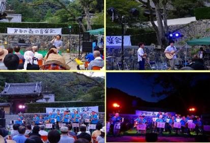 箕面の森の音楽会01