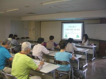 第2回「みのおの森のセラピーシスター」養成講座開始01
