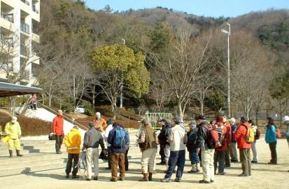 市民ボランティア35人が集まりました