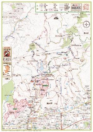 箕面の森ハイキングマップ