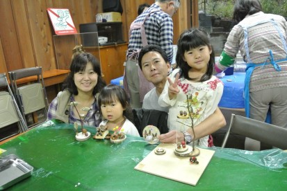 吹田市から来た家族の写真 (1)