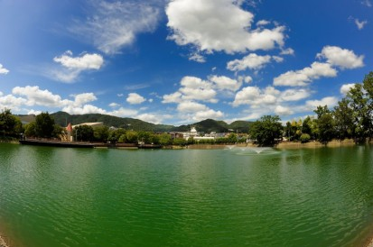 芦原池から夏山麓