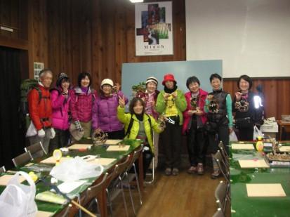新日本婦人中央支部ハイキング小組の皆様