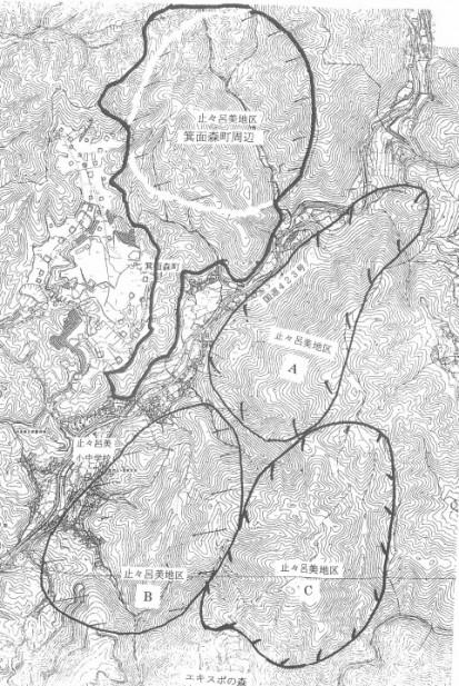 止々呂美・森町地区