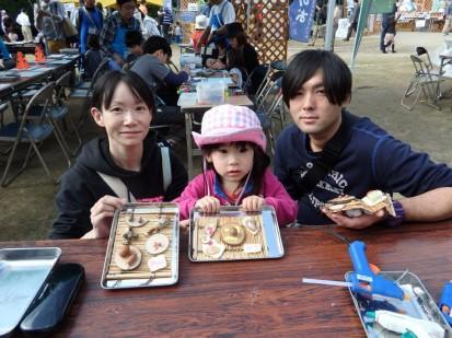 池田市みうちゃん3歳家族と (1)