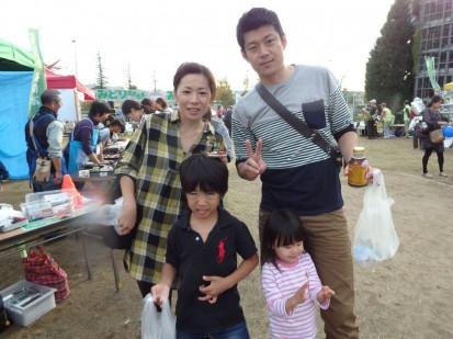 楽しかったといってくれた家族 (1)
