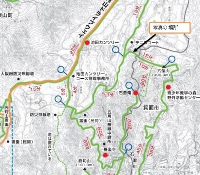 池田地図場所